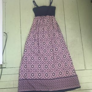 Anthropologie Lilka Carreau maxi dress size small